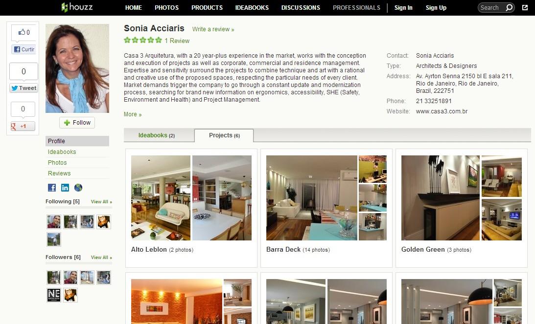 Houzz | Casa 3 Arquitetura